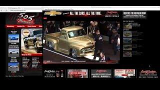 1955 Ford F100 Barrett-Jackson Scottsdale 2016 SOLD!