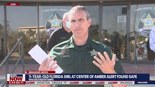 Pasco sheriff: 11-year-old girl at center of Amber Alert was with 22-year-old man   NewsNOW from FOX
