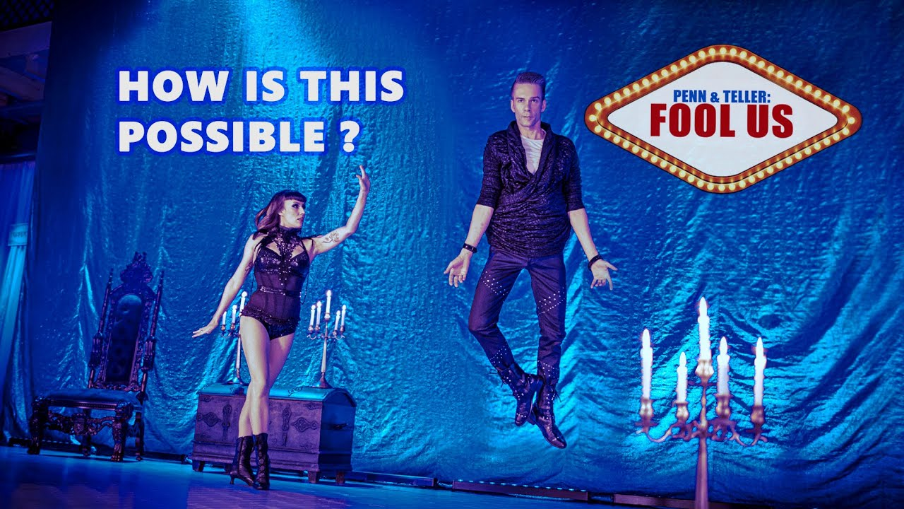 Download No Gravity! 😳 Fool Us : Penn & Teller - FLYING ILLUSION by Willi Auerbach - Magician & Illusionist