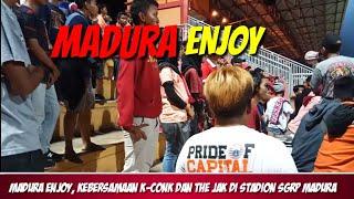 MADURA ENJOY,  SIAPAPUN BOLEH DATANG KE MADURA || MADURA VS PERSIJA 2018