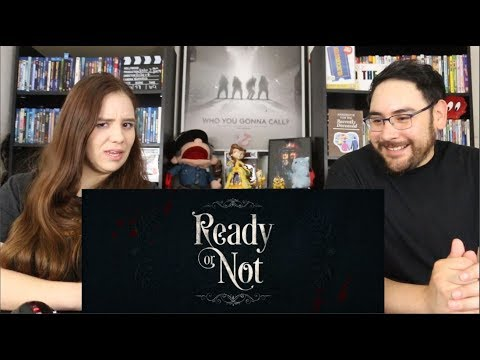Ready or Not  – Official RED BAND Trailer Reaction / Review