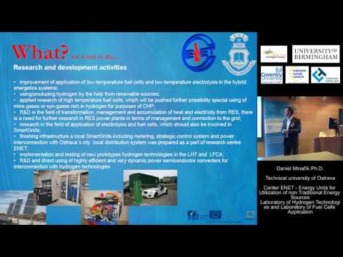 10th International Hydrogen & Fuel Cell Conference - Horizon 2020 International Partnering Workshop