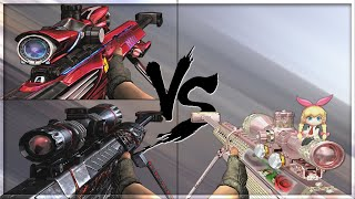 CrossFire 2.0 : BARRETT M82A1-JEWELRY vs BARRETT M82A1 VIP's [VVIP Sniper Comparison]