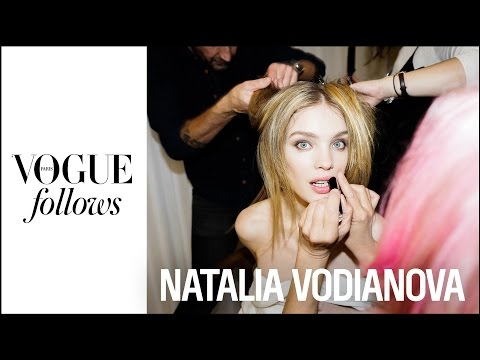 Natalia Vodianova : A Fashion Week night with the model for Naked Heart Fundation   #VogueFollows