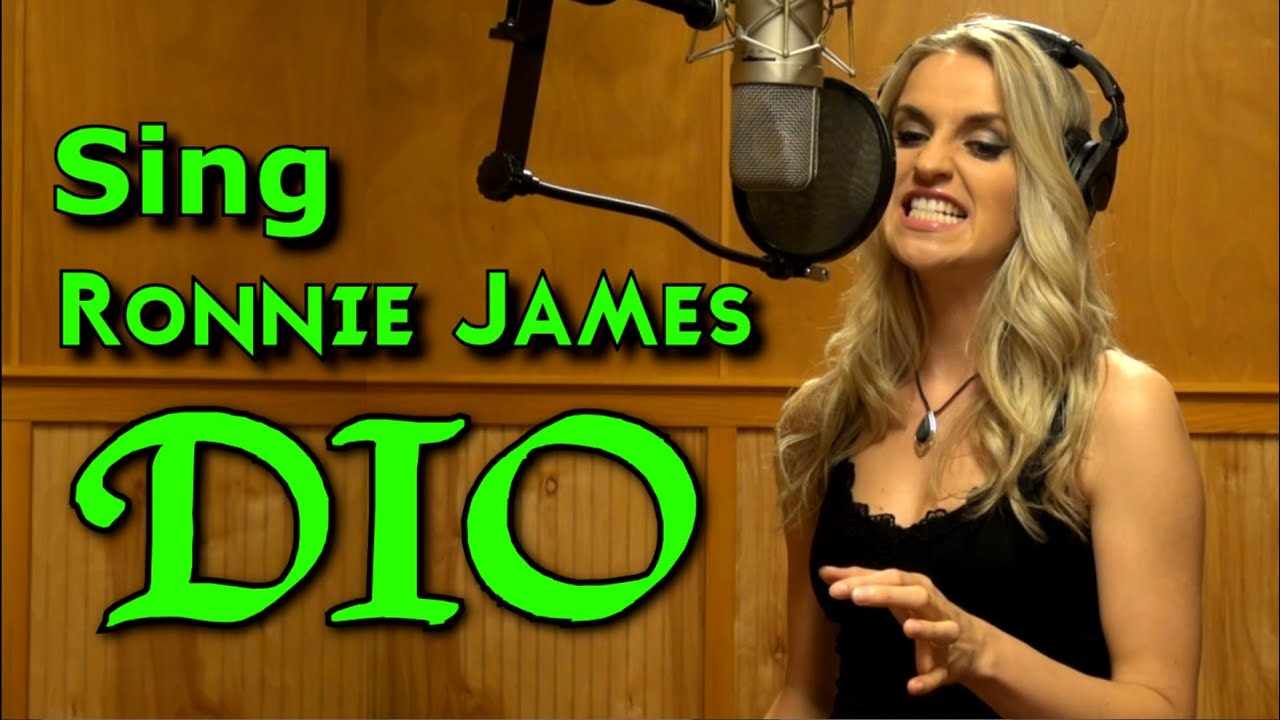 Gabriela Gunčíková - How To Sing Like Ronnie James Dio - Ken Tamplin Vocal Academy