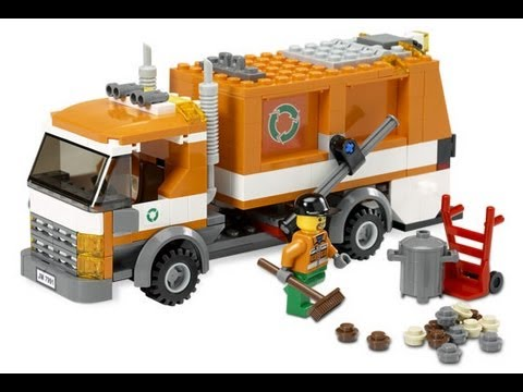 Lego City Garbage Truck 7991 Youtube