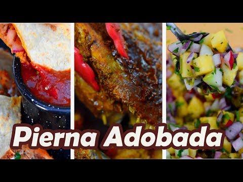 PIERNA ADOBADA + Salsa y Guarnición | TOQUE Y SAZÓN