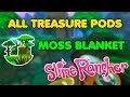 How to find All Treasure Pods in Moss Blanket | Slime Rancher