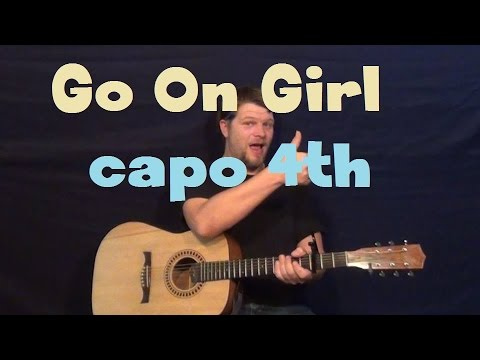 Go On Girl (Ne-Yo) Easy Guitar Lesson Strum Fingerstyle How to Play ...
