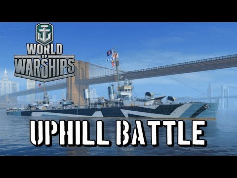 World Of Warships - Uphill Battle