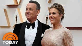 Tom Hanks And Rita Wilson Are Back In The US | TODAY