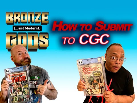 Episode 3: How To Submit Comics To CGC, Art Adams & More!