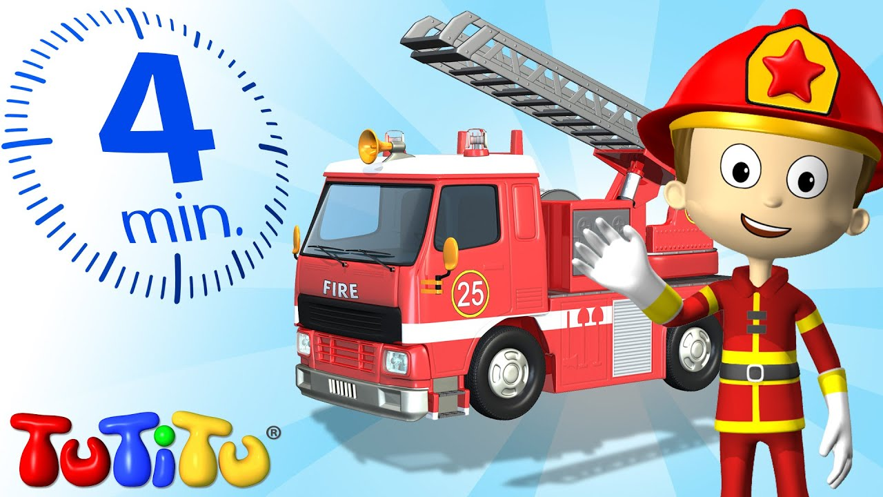 tutitu specials fire truck toys and songs for children youtube. Black Bedroom Furniture Sets. Home Design Ideas