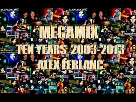 MEGAMIX ITALODANCE - ALEX LEBLANC - COLLECTION 2001/2006
