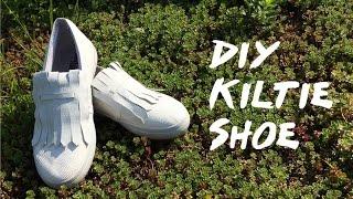 DIY KILTIE SHOE | FLATFORM STUDIOS