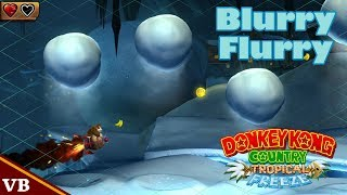 Donkey Kong Country: Tropical Freeze - 6-4 Blurry Flurry