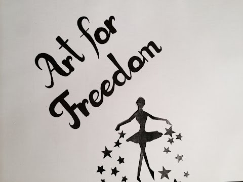 Art For Freedom by Michelle Leon #MadonnaDay PAPER ANIMATION