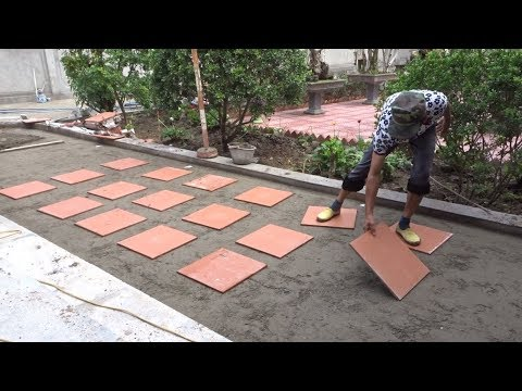 Amazing Construction Worker Tiles Ceramic You Need See - How To Build Tile A Yard Easy