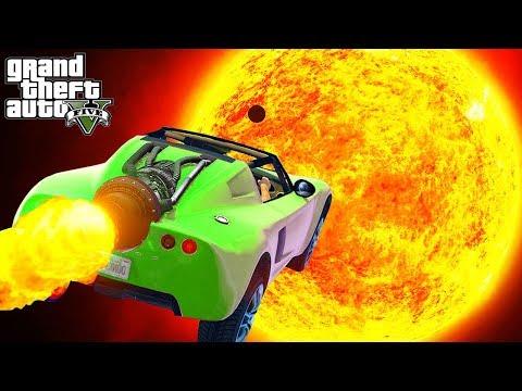 ¿Que Pasa Si Llegamos Al Sol en GTA 5?🚀🌞🐵 thumbnail
