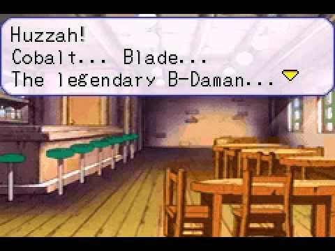 Battle B-daman Chapter 1 Cobalt Blade!
