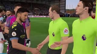 Бёрнли Манчестер Сити 3 12 2019 Англия Премьер лига