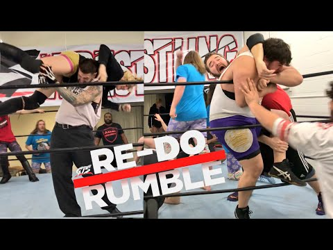 RE-DO ROYAL RUMBLE For GTS YOUTUBE WRESTLING FIGURES HEAVYWEIGHT CHAMPIONSHIP!