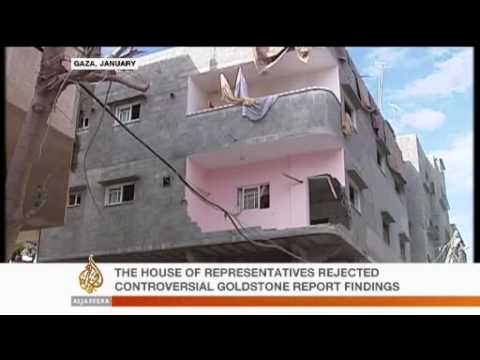 US House Rejects Goldstone Report  - 3 Nov 09