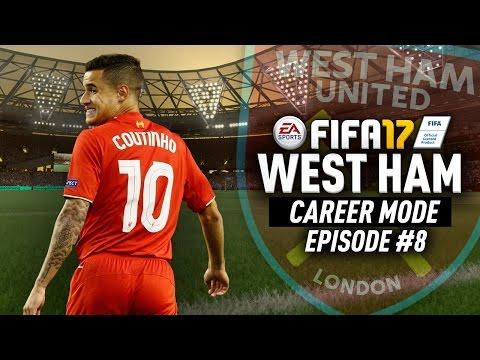 COUTINHO TRANSFERRED!!! FIFA 17 West Ham Career Mode #8