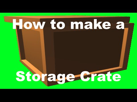 how to make a box in unturned 2