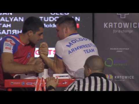 QUAL | Oleg Tudorean | Euro Arm 2017 | Youth Men -70kg - LEFT