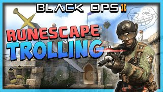 Black Ops 2: Runescape TROLLING #3 - Confused Players and Funny Reactions!! (BO2 Trolling)