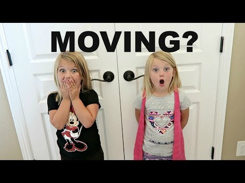 DID WE MOVE?!  HUGE SURPRISE!