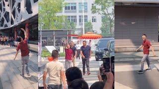 Jack Ma steps down as Alibaba's chairman, employees gather to bid farewell