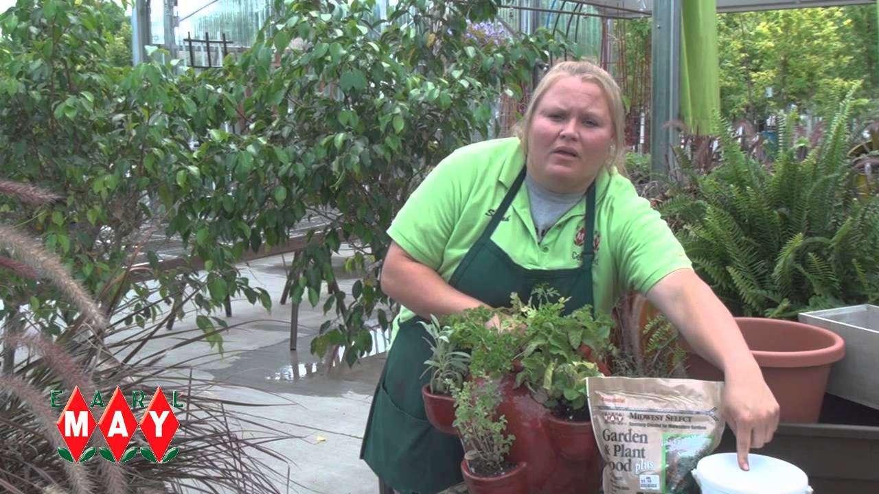 Earl May Garden Center How To Grow Herbs In Containers Youtube