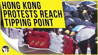 Hong Kong On The Brink: Protests Reach Tipping Point