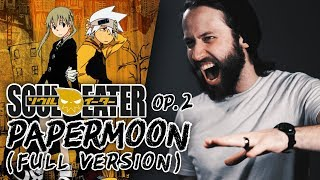 """SOUL EATER FULL OPENING 2  - """"Papermoon"""" (English Op cover version) Jonathan Young"""