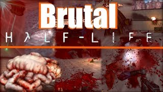 Brutal Half Life Beta 2: |First Time Playing|