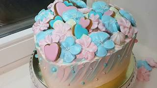 Торт Сердце на День святого Валентина