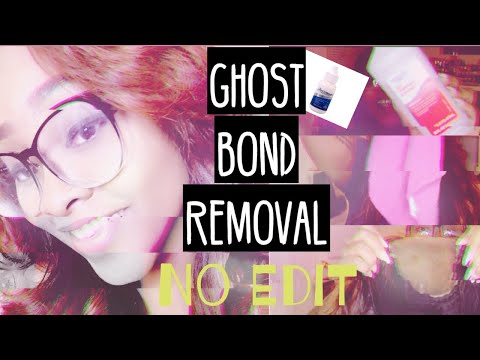 Easy Ghost Bond Adhesive Removal| Real Time