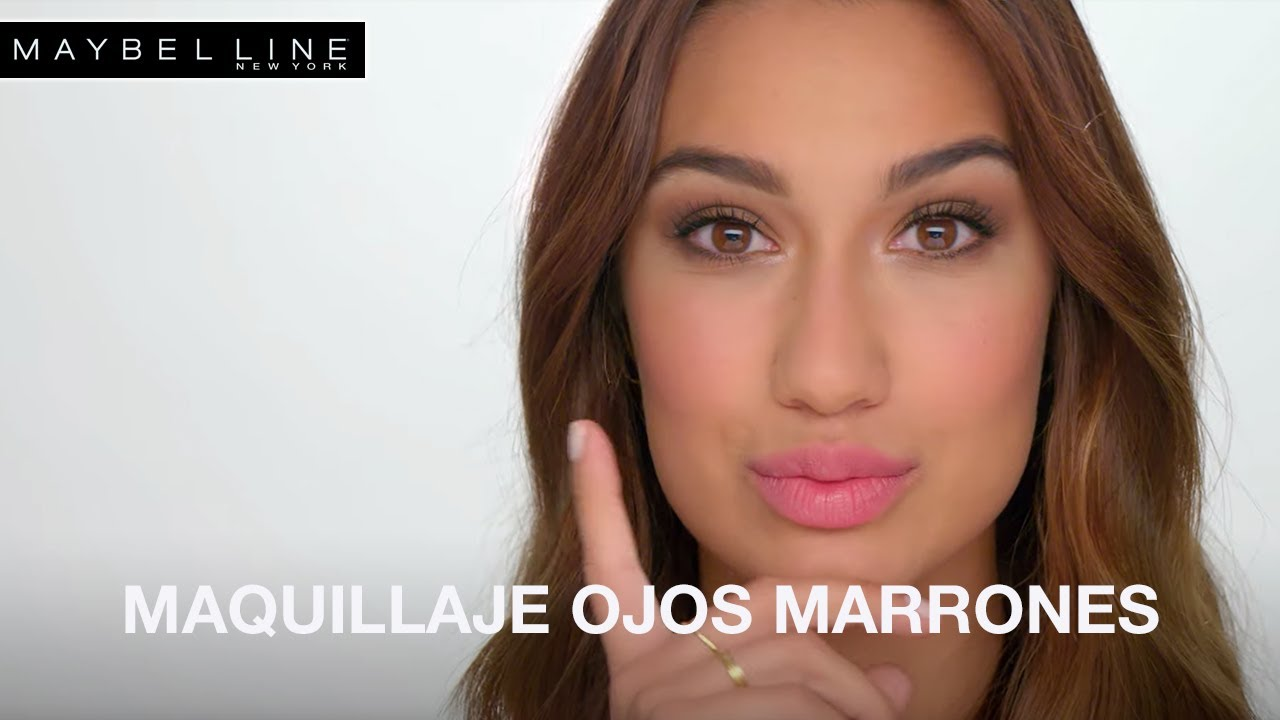 12b73a2d9 Tutorial makeup: Especial Maquillaje para ojos marrones - YouTube