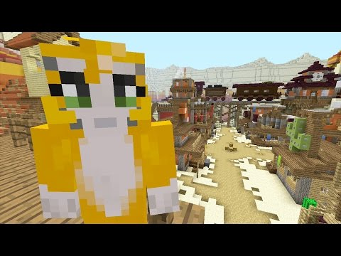 Minecraft Xbox - No HUD Challenge - Battle Mini-Game