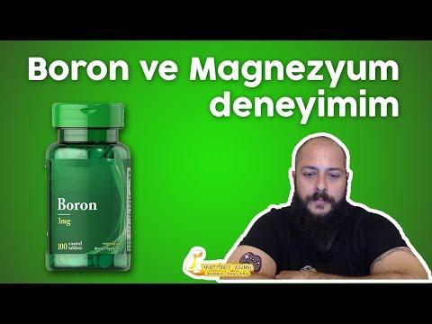 Boron ve Magnezyum deneyimim