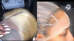 SKIN-like cap method & Different ways to customize blonde hair | HAIRBYERICKAJ.COM