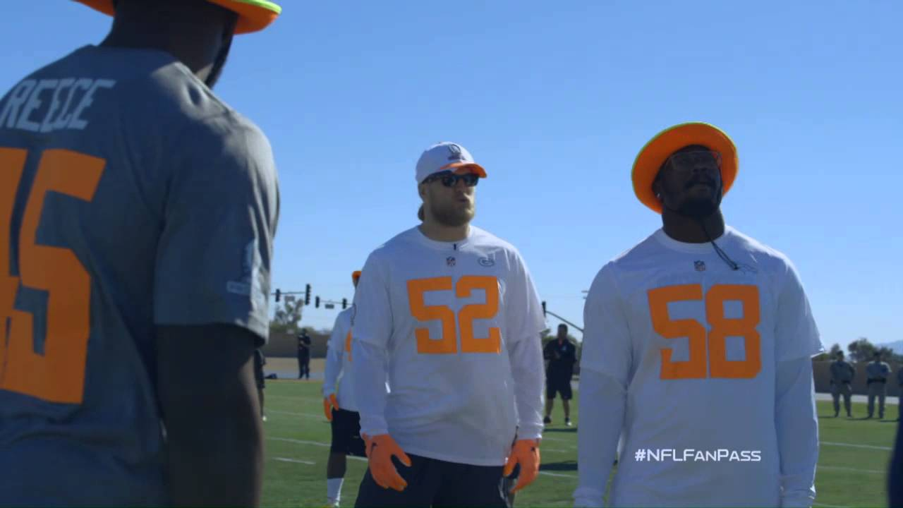 a15adddc9 Clay Matthews wired at Pro Bowl practice - YouTube
