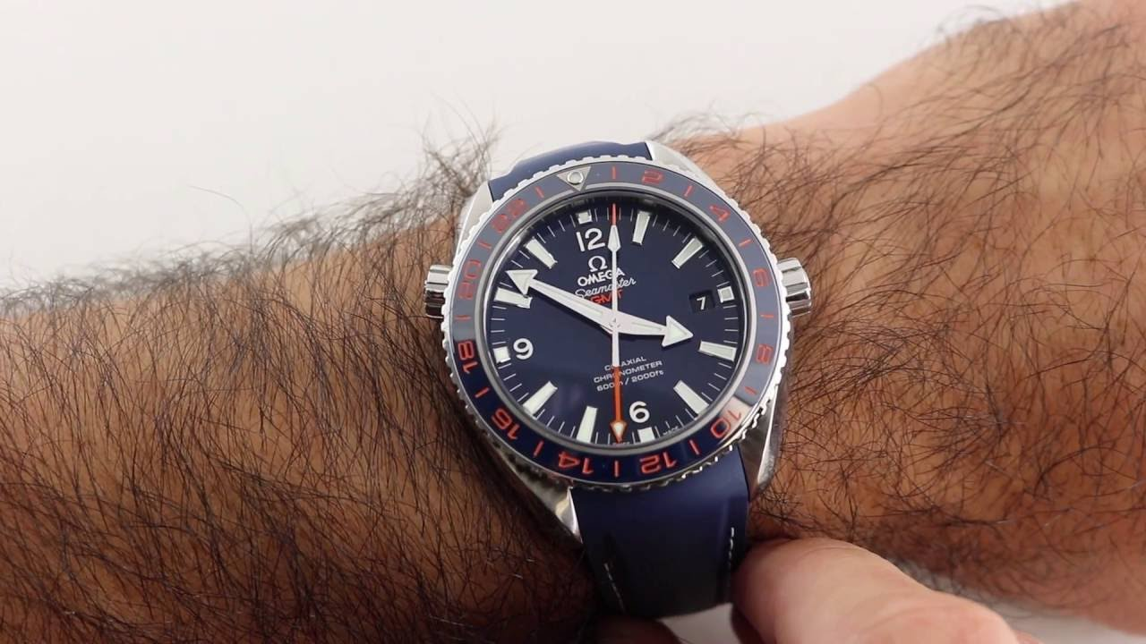 Pre-Owned Omega Seamaster Planet Ocean 600M Co-Axial GMT Goodplanet Luxury  Watch Review f826f4e215