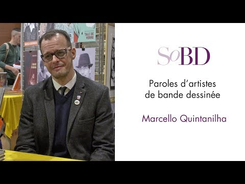 Marcello Quintanilha - Paroles d'artistes de bande dessinée sur le SoBD
