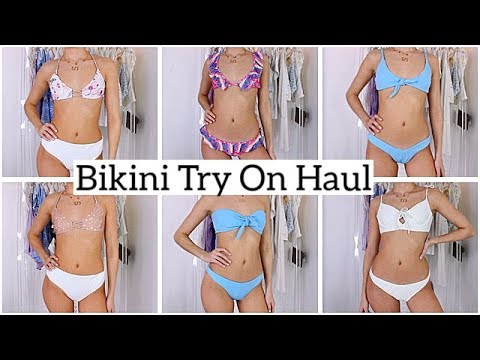 dbf1f62f92 BIKINI TRY ON HAUL   Zaful Bikini Haul