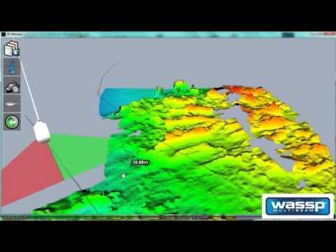 WASSP Multibeam sonar WMB-160F: Potting Applications (Lobster, Cray, Crab etc.)