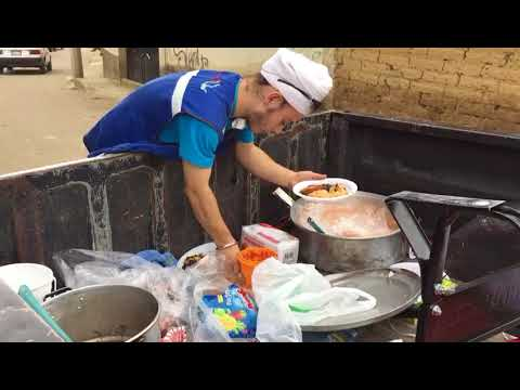 Feeding the Elderly Post-Earthquake in Mexico