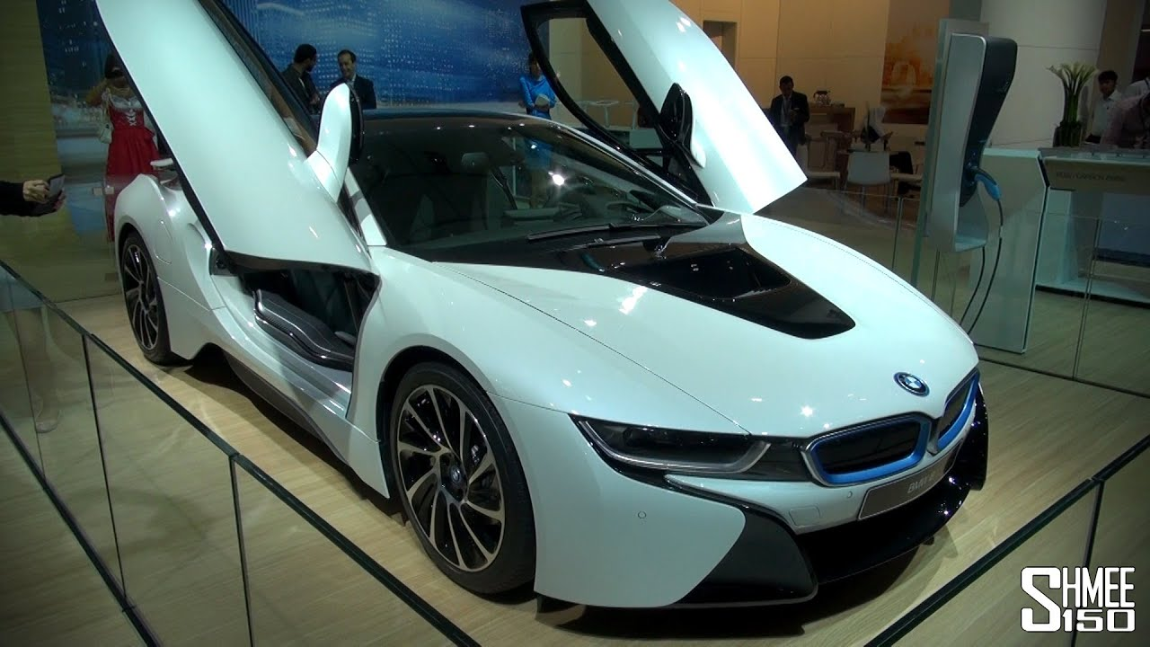 Bmw I8 Production Specification Hybrid Supercar Youtube